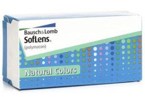 Έγχρωμοι φακοί επαφής Bausch & Lomb SofLens Natural Colors