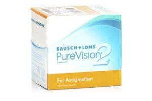 Φακοί για τον αστιγματισμό - PureVision2 for Astigmatism της Bausch & Lomb