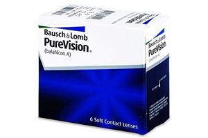 Φακοί επαφής PureVision από την Bausch & Lomb για την μυωπία