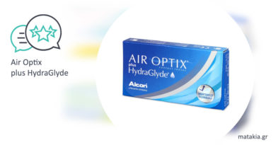 Φακοί επαφής Air Optix plus HydraGlyde