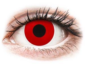 ColourVUE Crazy Lens - Red Devil - Αποκριάτικοι φακοί επαφής