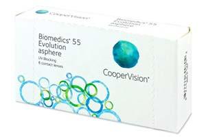 Φακοί επαφής Biomedics 55 Evolution