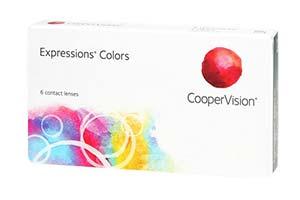 Φακοί επαφής Expressions Colors