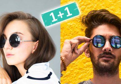 Γυαλιά ηλίου προσφορές 1 + 1