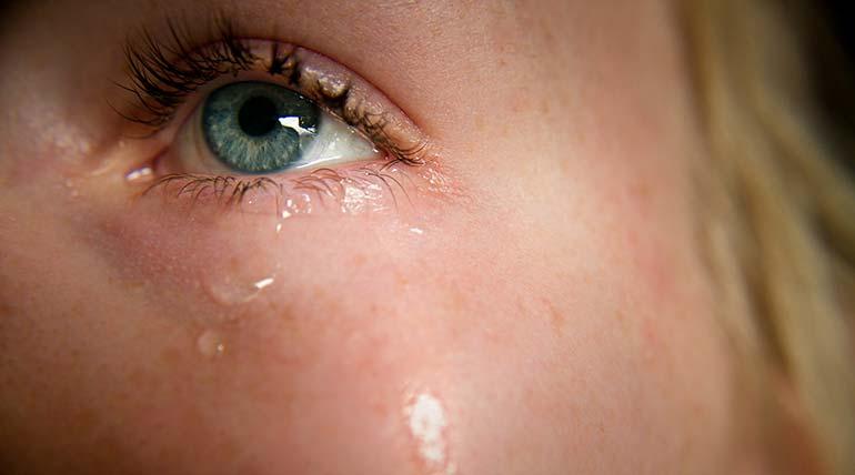 Δακρύρροια ή αλλιώς ένοχα δάκρυα