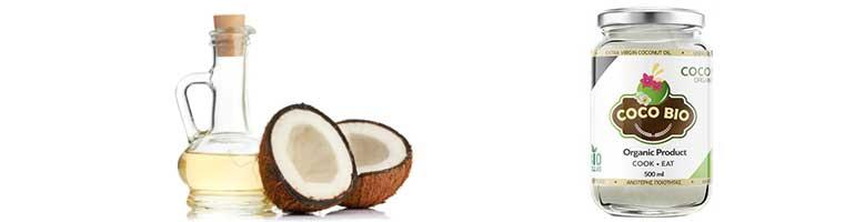 Coco Bio - Λάδι καρύδας για τις βλεφαρίδες