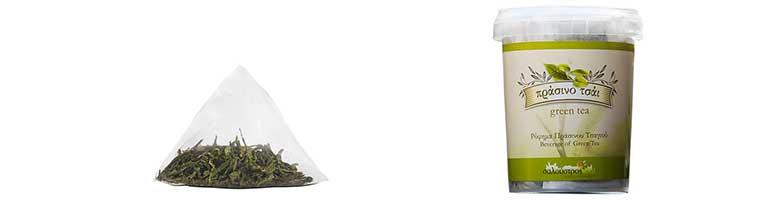Πράσινο Τσάι Σαλούστρος για τις βλεφαρίδες